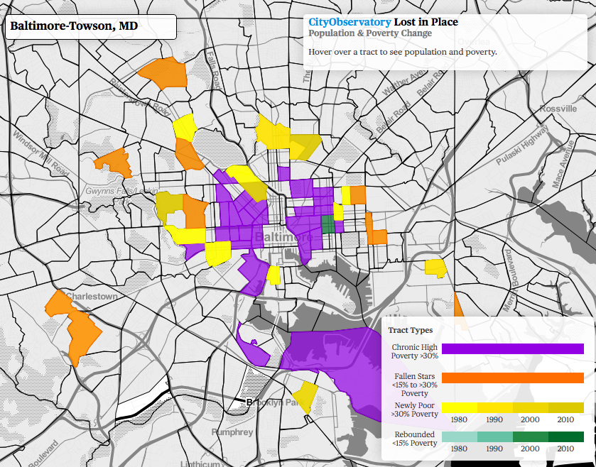 On Baltimore Concentrated Poverty Segregation And