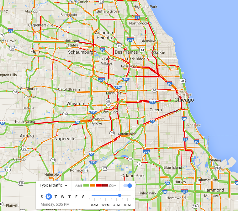 Chicago Highway Map With highway expansion, be careful what you wish for | City